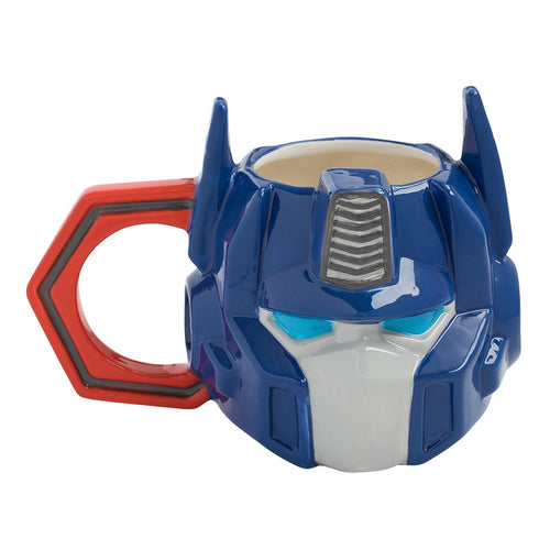 Transformers Optimus Prime 18 oz. Sculpted Ceramic Mug