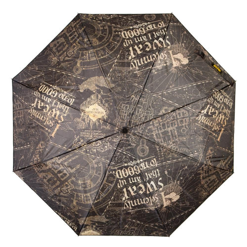 Harry Potter I Solemnly Swear Compact Umbrella