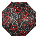 Marvel Deadpool Logo LED Umbrella