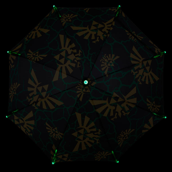 Nintendo Zelda Logo LED Umbrella