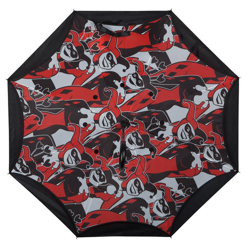 DC Comics Harley Quinn Reverse Folding Umbrella