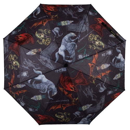 Harry Potter Creatures Compact Umbrella