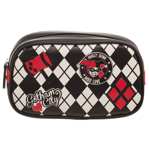 DC Comics Harley Quinn Makeup Bag