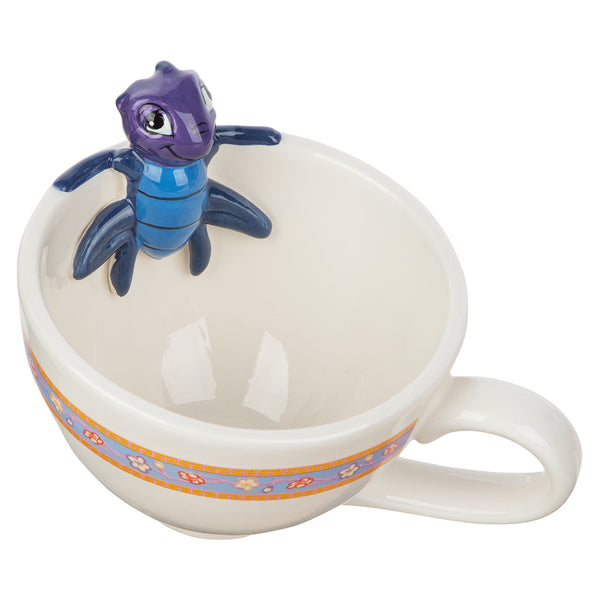 Disney Mulan Cri-Kee 10 oz. Sculpted Ceramic Teacup
