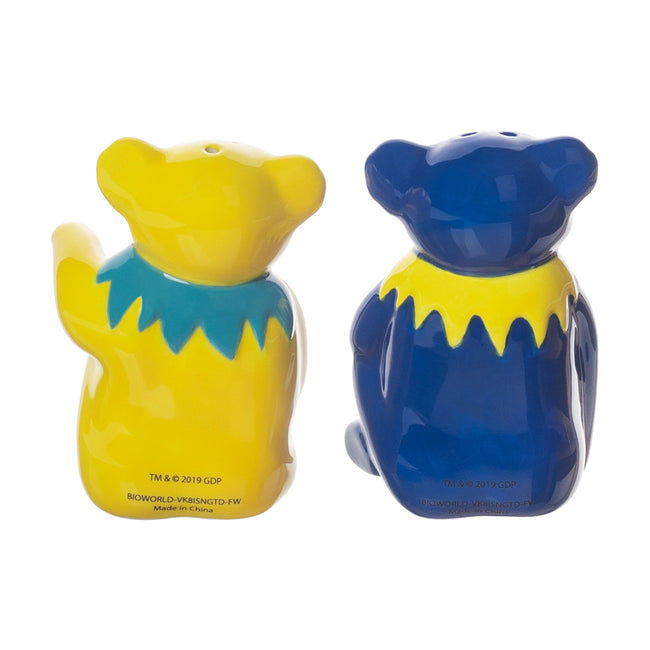 Grateful Dead Sculpted Ceramic Salt & Pepper Set