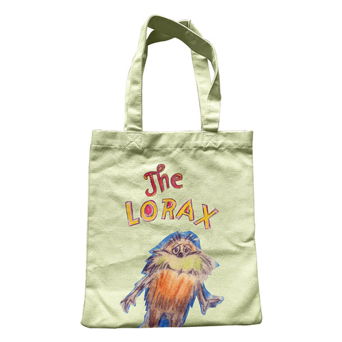 Dr. Seuss Lorax Large Canvas Tote