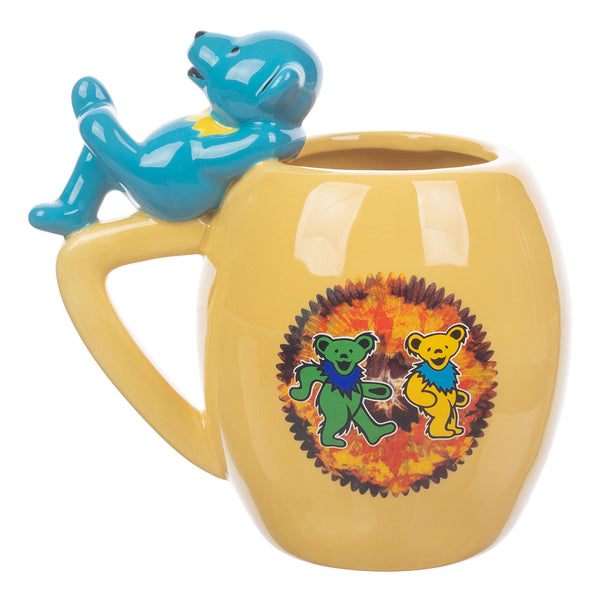 Grateful Dead 16 oz. Sculpted Oval Ceramic Mug