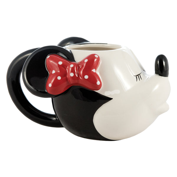 Disney Mickey & Minnie Sculpted Ceramic Mug - Set of 2