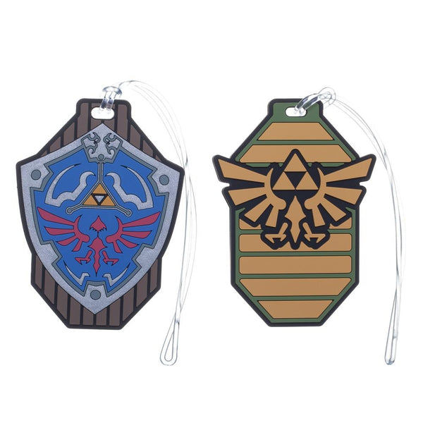 Nintendo Zelda Rubber Luggage Tags - Set of 2