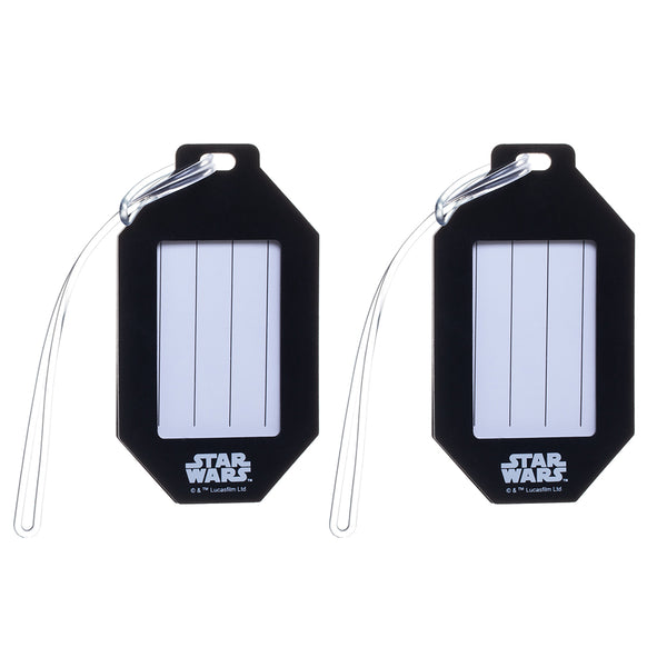 Star Wars Rubber Luggage Tags - Set of 2