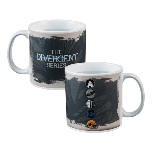 Divergent 20 oz. Heat Reactive Ceramic Mug