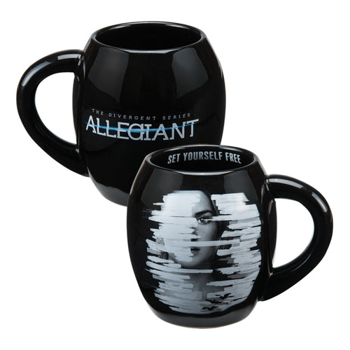Allegiant 18 oz. Oval Ceramic Mug
