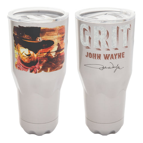 John Wayne 30 oz. Stainless Travel Tumbler
