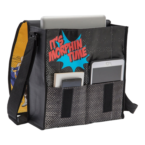 Power Rangers Recycled Messenger Tote