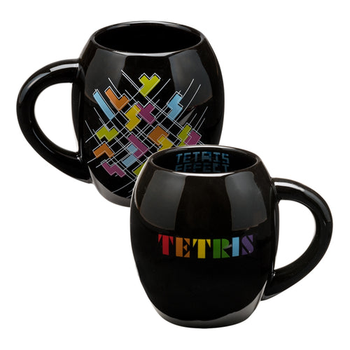 TETRIS 18 oz. Ceramic Oval Mug