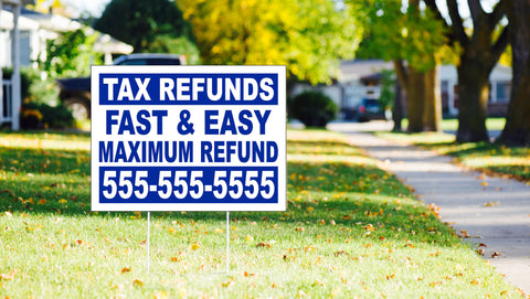 6 Biggest Benefits of Yard Sign Advertising