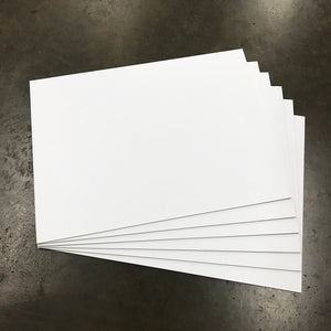 "Blank White Signs - 18"" X 24"" (Starting at $50)"