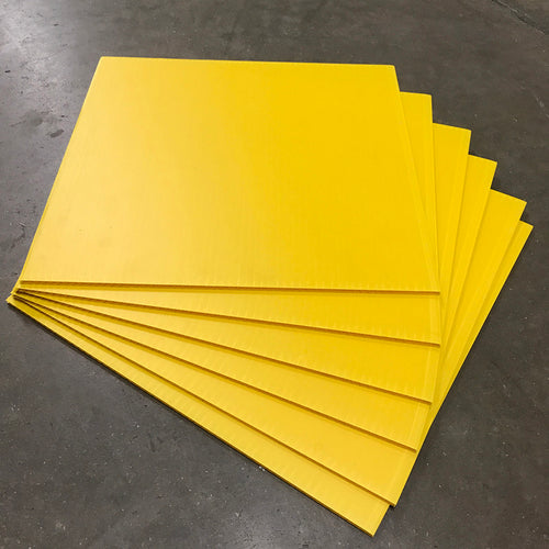 Blank Yellow Signs - 18