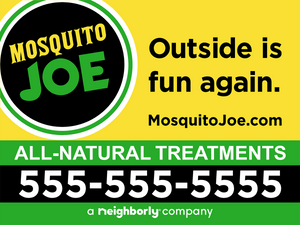 24x18 MoJo (All Natural) Yard Signs with stakes - (Starting at $275)