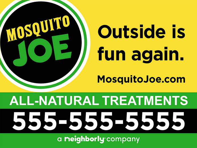 24x18 MoJo (All Natural) Yard Signs with Stakes
