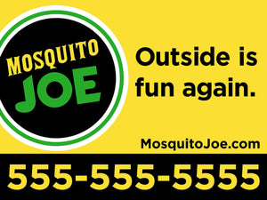 24x18 MoJo Yard Signs with stakes - (Starting at $275)