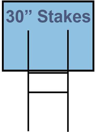 9X30 Yard Stakes (Starting at $53)