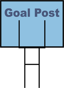 Heavy Duty Goal Post Yard Stakes (Starting at $75)