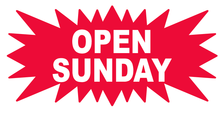 Starburst - Open Sunday