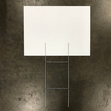 "Blank White Sign & Stake Package - 18"" X 24"" (Starting at $50)"