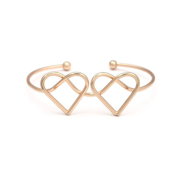 Shape Of My Heart Bangle