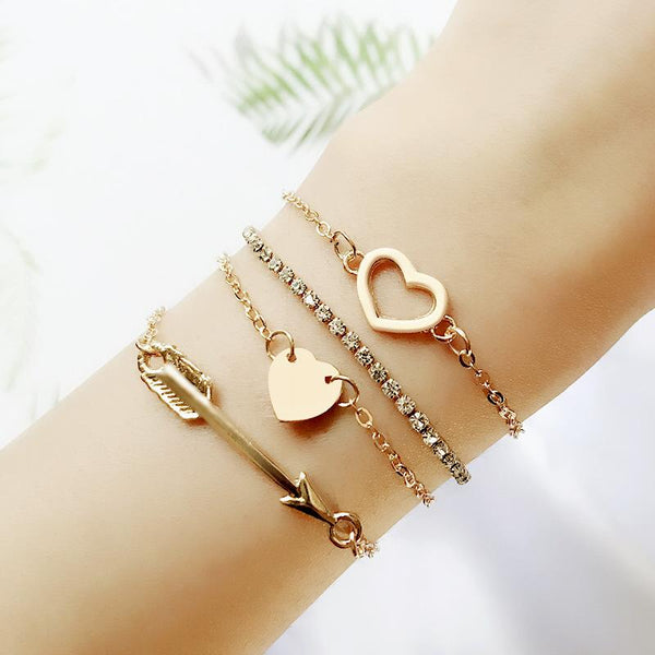 Cupid's Arrow Bracelet Set
