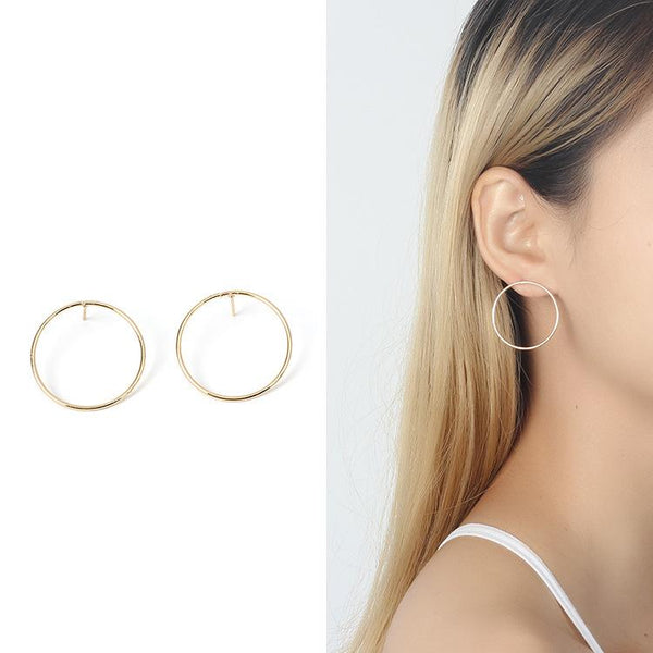Simplism Hoop Earrings