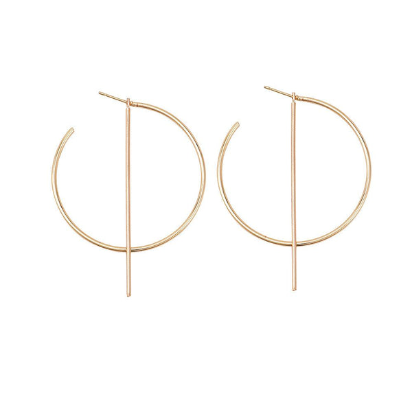 Wear Everywhere Hoop Earrings