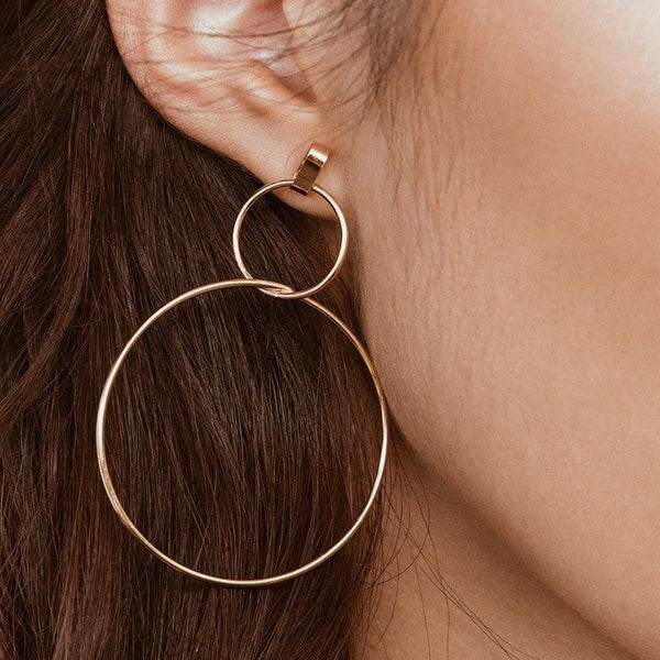 Sister Hoop Earrings