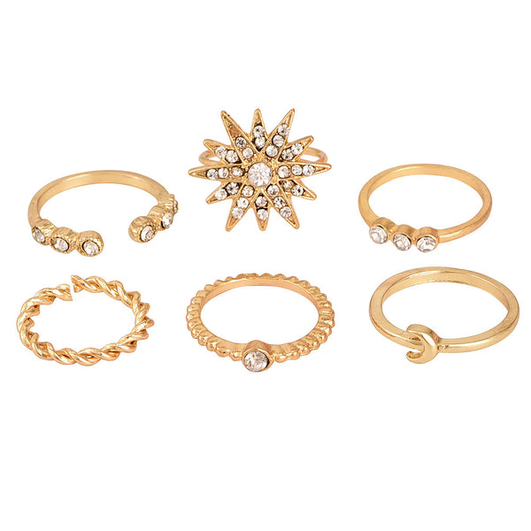 Athens Style Ring Set