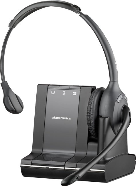 Plantronics Savi Wireless Monaural Over the Head Headset-Microsoft