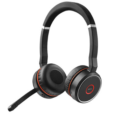 Jabra Evolve 75 UC Stereo headset wireless