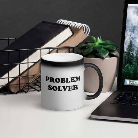 Black Magic Coffee Mug - Problem Solver