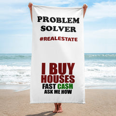 Beach Towel - Real Estate