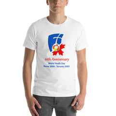 World Youth Day 20th Anniversary T-Shirt 2000/2002