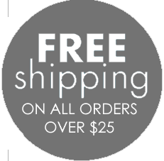 Image of Free shipping (when you spend over $25)
