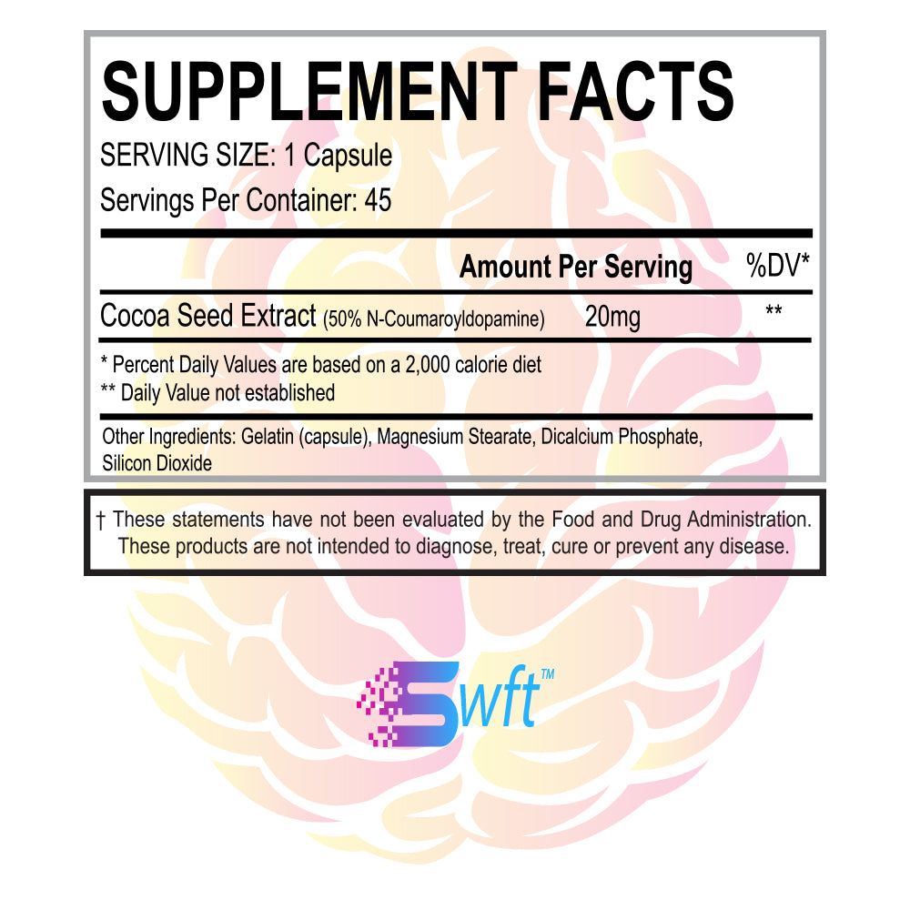 Cocoabuterol Supplement Facts