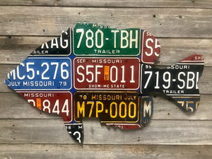 Missouri Sunfish License Plate Art