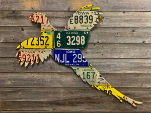 Iowa Pheasant License Plate Art