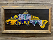Oregon Steelhead License Plate Art