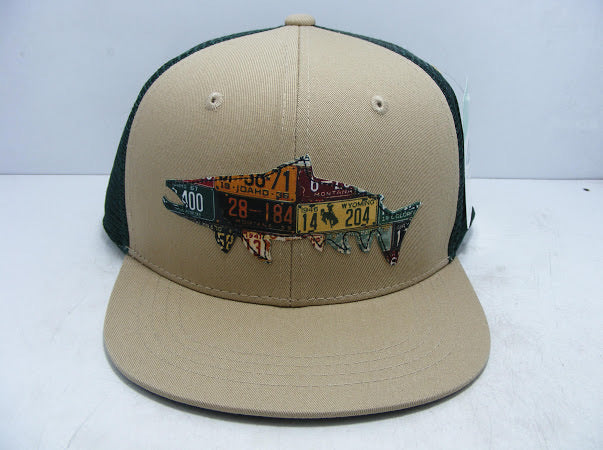 RepYourWater X Cody's Fish Mixed Western Trout High-Profile Trucker Hat