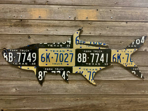 Texas Tarpon License Plate Art