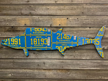 Bahamas Wahoo License Plate Art