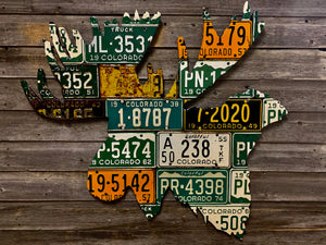 Colorado Moose License Plate Art