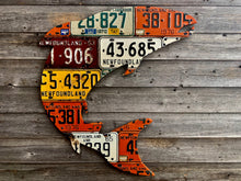 Newfoundland Atlantic Salmon License Plate Art